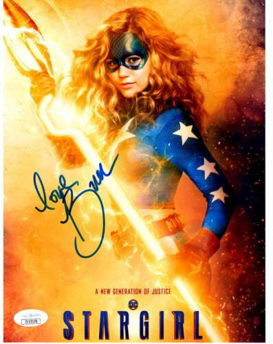 Brec Bassinger Stargirl Autographed Signed 8x10 Photo JSA COA 2020-3