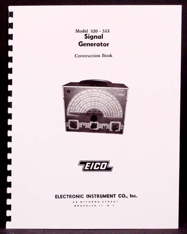 EICO Model 320 322 Signal Generator Construction Manual
