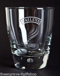 Baileys Engraved Glasses