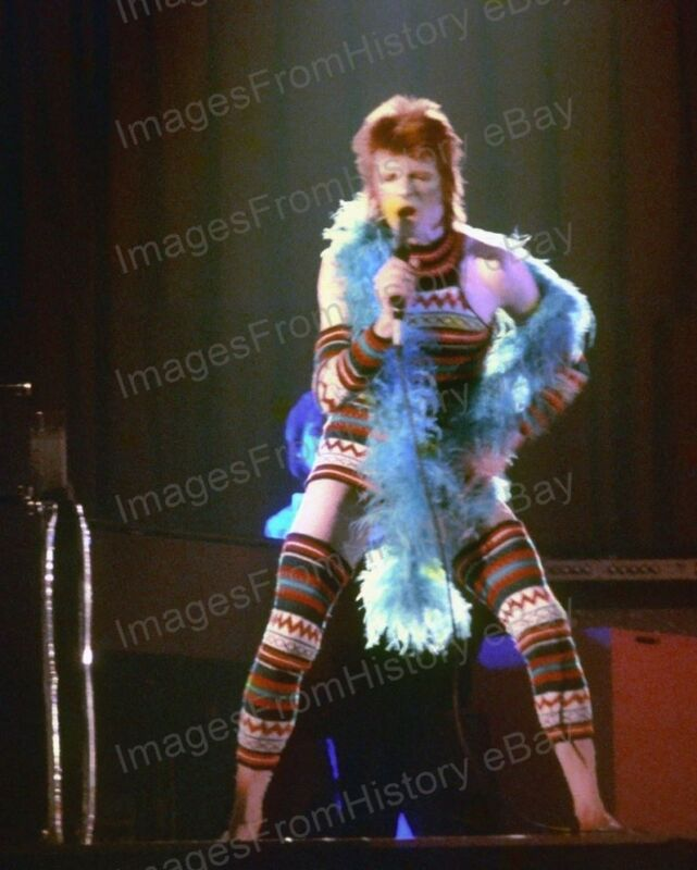 8x10 Print David Bowie Ziggy Stardust Los Angeles California 1973 #DB77
