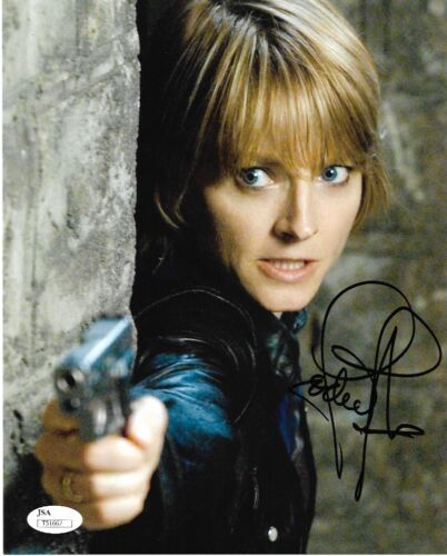Jodie Foster Silence of the Lambs Autographed Signed 8x10 Photo JSA COA 2