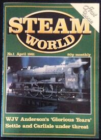 358 BACK ISSUES OF STEAM WORLD MAGAZINE FOR SALE