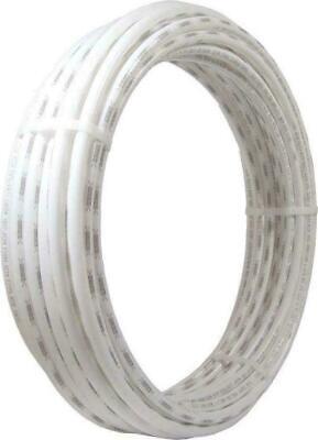 SharkBite, White, PEX Pipe 1/2 Inch, Flexible Tube, Potable Water, Plumbing 100