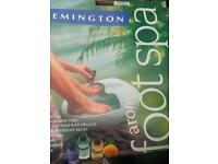 Remington Aromatherapy Foot Spa, Gift Condition: