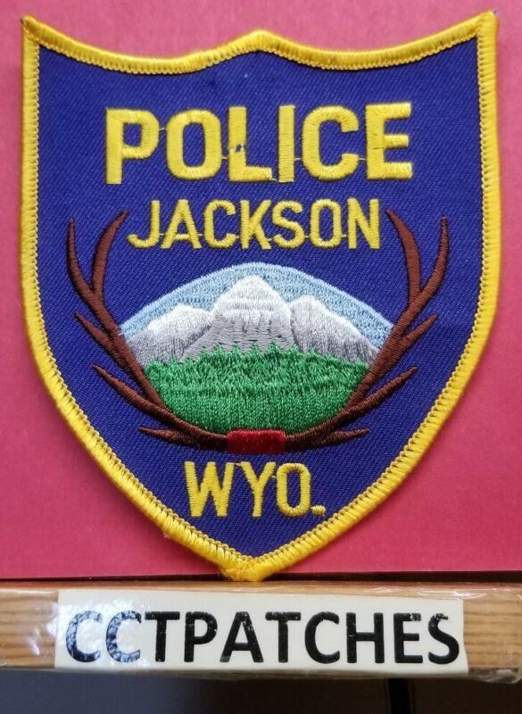 JACKSON, WYOMING POLICE SHOULDER PATCH WY