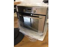 Indesit stainless steel electric oven