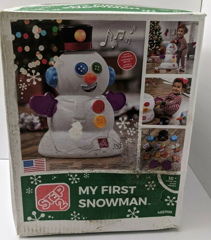 Step2 My First Snowman Christmas Best New in Box #485700