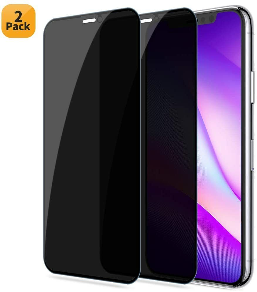 2 Pack Privacy Tempered Glass Screen Protector For iPhone 11 Pro Max XR XMax X Cell Phone Accessories