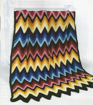 Шаблоны Crochet Pattern ~ RIPPLING REFLECTIONS