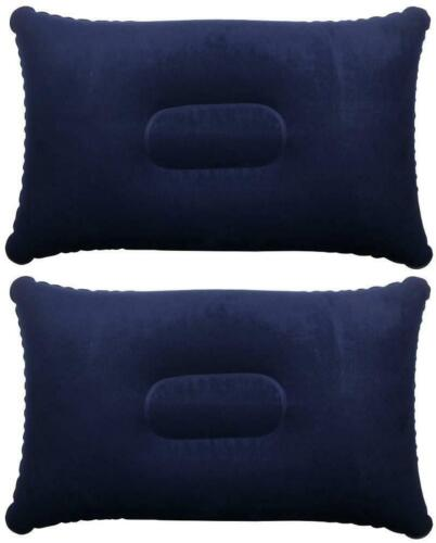 Inflatable Portable Pillow for Travel Or Camping Blow Up Air Pillow 3 Colours