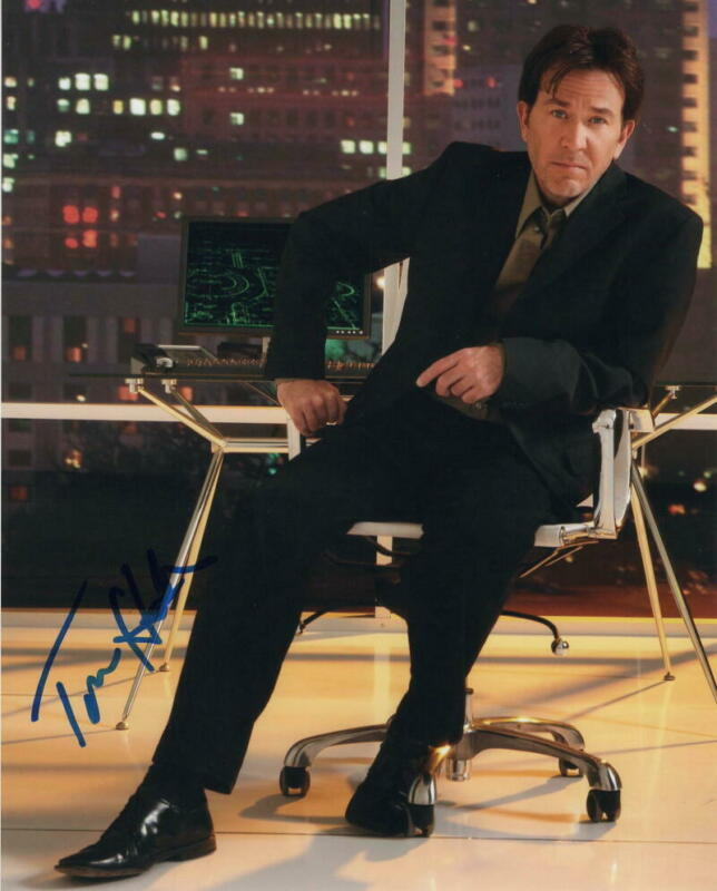TIMOTHY HUTTON SIGNED AUTOGRAPH 8X10 PHOTO - ORDINARY PEOPLE, LEVERAGE STAR