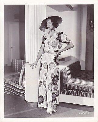 ELEANOR POWELL Pajamas Vintage 1937 CANDID Leggy CLARENCE BULL MGM FASHION Photo