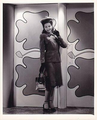ANN MILLER Beautiful Original Vintage 1942 GEORGE HURRELL Fashion Portrait Photo