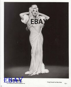 Craig-Russell-as-Mae-West-VINTAGE-Photo-Too-Outrageous