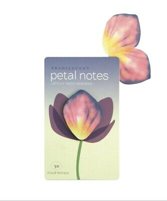 Girls At Work Transparent Sticky Page Petal Markers
