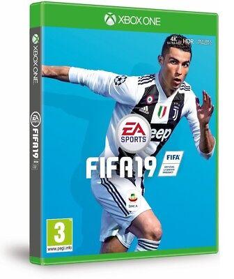 FIFA 19 XBOX ONE VIDEOGAME ITALIANO FIFA 2019 STANDARD EDITION EU X BOX NUOVO