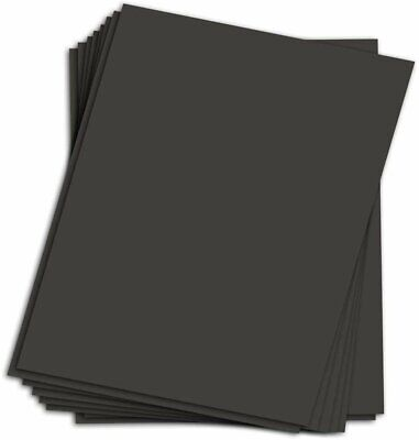 Black Chipboard - Medium Weight, 30Pt. (624 gsm) Cardboard