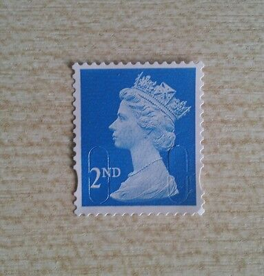 500 x 2nd Class  Stamps Off Paper ( no gum )TRUSTED UK SELLER