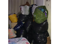 Bin bags of clothes free delivery