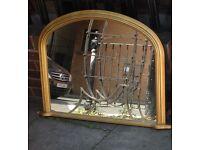 2x Matt Gold Mirrors 1x Matt Silver Mirror 1x Wood Mix Mirror £90.00 Or Near Offer All Four