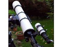 APM 152 ED Apochromatic doublet refractor telescope.