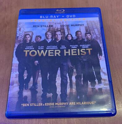 Tower Heist Blue Ray DVD