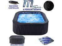 Mspa tekapo inflatable hot tub