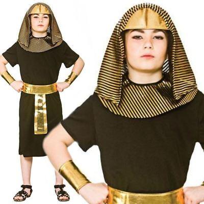 Jungen Pharao Ägyptische König Kostüm Buch Tag Kostüm Historisch Kinder (Buch Tag Kostüm Kinder)
