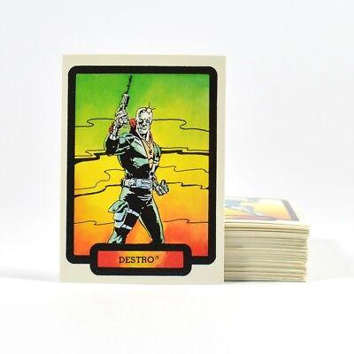 1987 Hasbro / Comic Images GI Joe Trading Card Set (55)