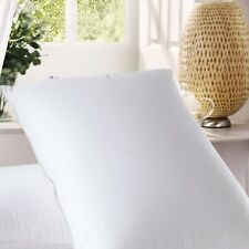 Premium Layered Down Pillow 2 Pack - 300 Thread Count Cotton Cover