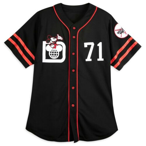 NWT Walt Disney World Parks 2021 Mickey Mouse 71 Baseball Jersey Shirt Adult M