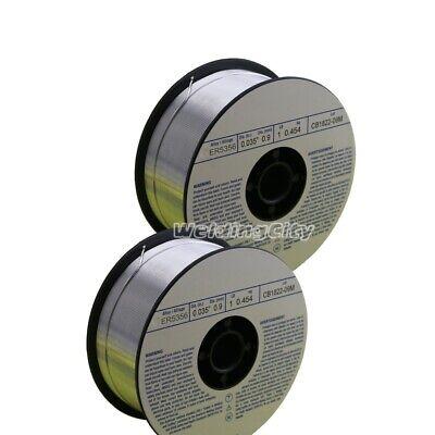 Weldingcity 2-pk Aluminum Mig Welding Wire Er5356 .035 0.9mm 1-lb Roll Usa
