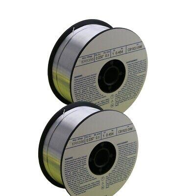 Weldingcity 2-pk Aluminum Mig Welding Wire Er5356 .030 0.8mm 1-lb Roll Usa