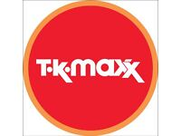 Sales Assistant Opportunities - New TK Maxx Store Opening - Huntingdon