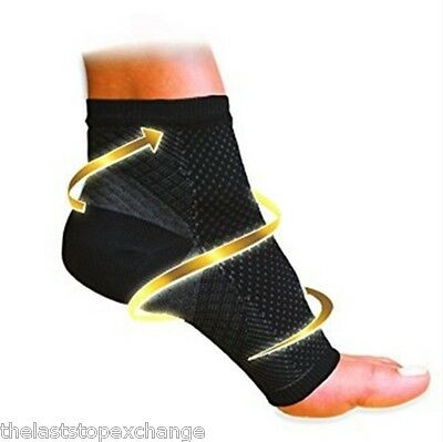Compression X Best PLANTAR FASCIITIS Foot Pain Sleeves Heel Ankle (Best Plantar Fasciiti Sock)