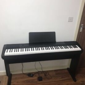 Casio CDP 120 Digital Piano with Stand, Sustain Pedal, Travel Bag, cover and stool