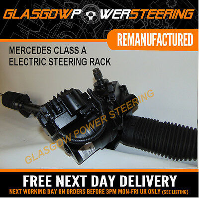 POWER STEERING,MERCEDES CLASS A,PETROL ONLY,ELECTRONIC STEERING RACK W169