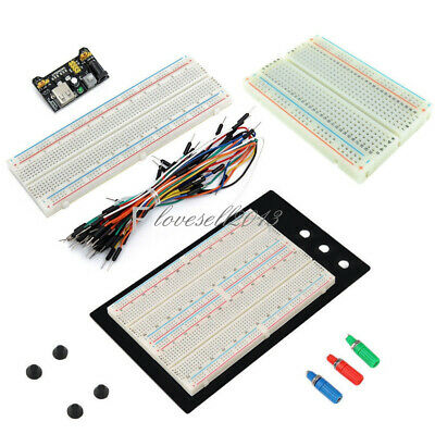 Mb102 400830 Point Breadboard 1660 Power Supply Module W Jump Wire For Arduino
