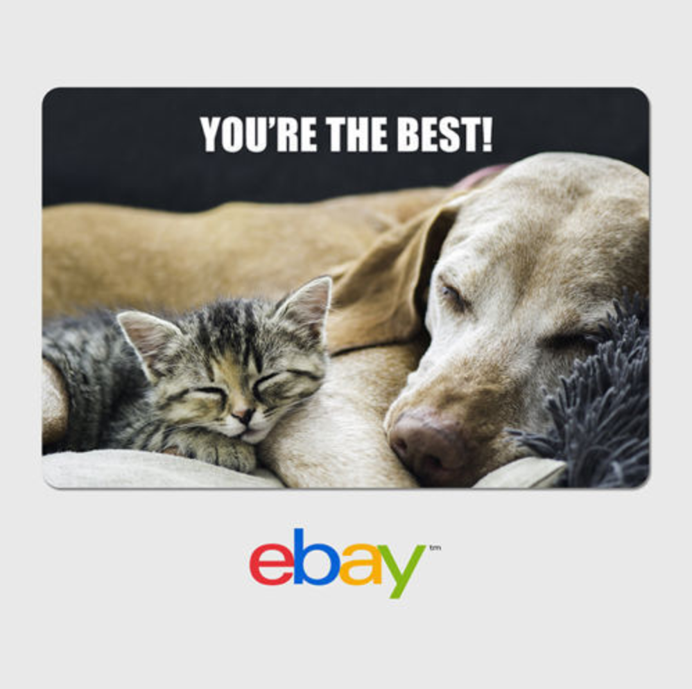 Купить eBay - eBay Digital Gift Card - Thank You - You're the Best - Email Delivery