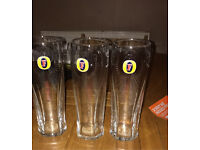 Free fosters pint glasses x 3 NR1