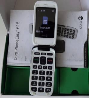 Doro Phone Easy 615 - Black (Unlocked) Doro Camera Mobile Phone