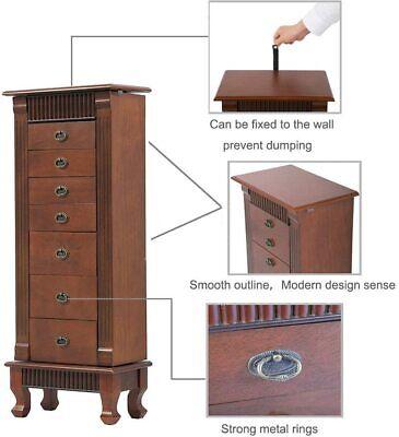 Jewelry Cabinet Jewelry Chest Jewelry Armoire Wood Jewelry Box Jewelry & Watches