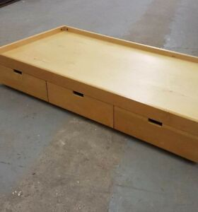 Extended Single Bed with Drawers