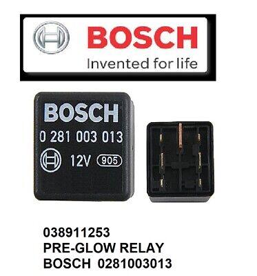 OE BOSCH Diesel Glow Plug Control Relay Module (7 Pin) For VW TDI 1.9L Diesel  Volkswagen Glow Plug