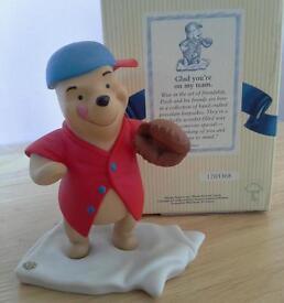 Pooh & Friends Disney figurine - Glad you're on my team