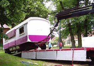 TRANSPORT v.  BAUWAGEN,  Bienenwagen, Schaustellerwagen, Zirkuswagen, Wohnwagen