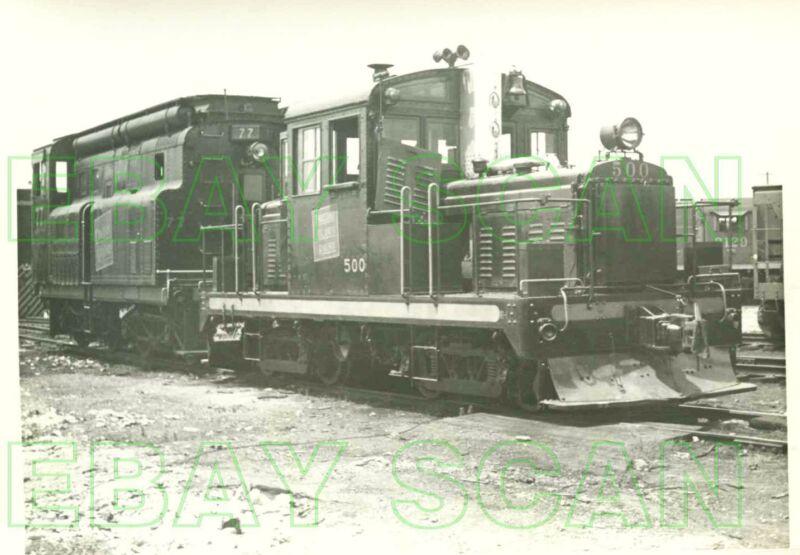 8C500A RP 1940s/50s THOUSAND ISLANDS RAILWAY LOCOMOTIVE #500 #77