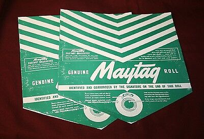 2 Maytag 92 72 31 Wringer Washer Roller Paper Gas Engine Motor Hit Miss Small