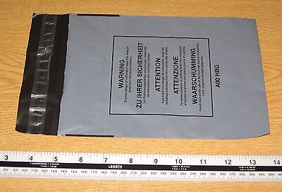 25 x A00 Small Strong Grey Mail Bags Parcel Sacks 6.5 x 9 approx 160 x 220mm