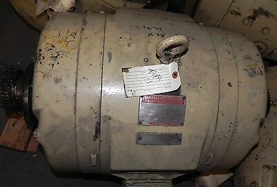 General Electric Motor 5k4364a2b2 40hp 3ph 208-220440v 1770rpm Used.